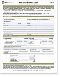 Trez Capital Yield Trust US (USD) – Corporate Investor Application Form