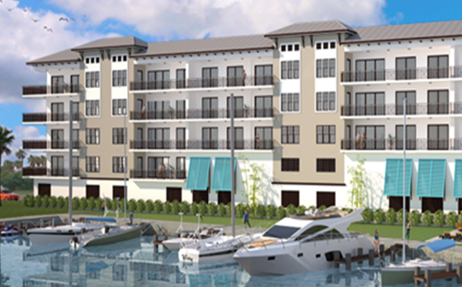 Trez Capital Funds Construction Loan for Luxury Condominium Project in Tampa Market